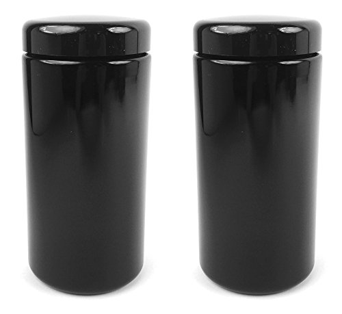 MIRON Violettglas 1 Liter - Ultraviolet Storage Container | Airtight Smell Proof | Screw Top Jar (2)