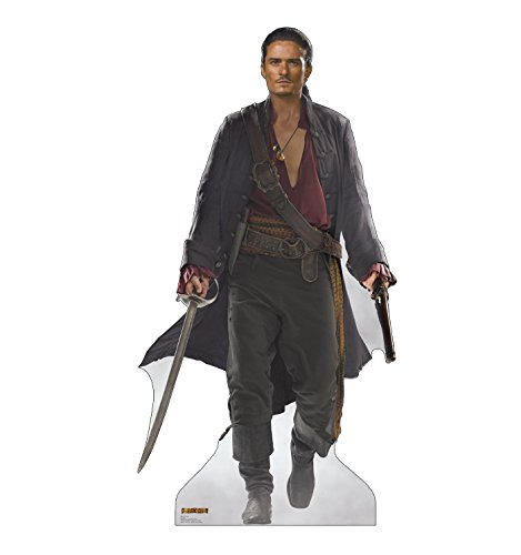 Advanced Graphics Will Turner Life Size Cardboard Cutout Standup - Disney's Pirates of the Caribbean