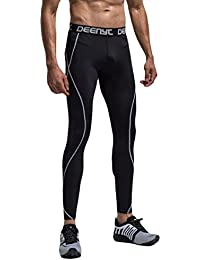 Athletic Men's Compression Base Layer Workout Running Tights