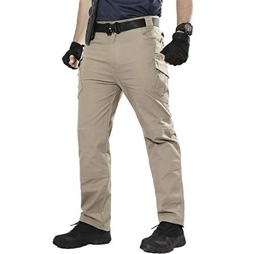ReFire Gear Men's Assault Tactical Pants Lightweight Cotton Outdoor Military Combat Cargo Trousers by ReFire Gear