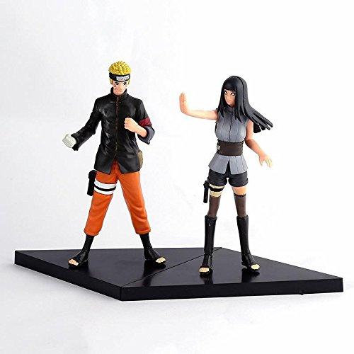 NEW Naruto Hinata PVC Action Figure Anime Gift Toy 2pcs