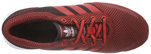 core Adulte Black Los Basses Rot Mixte scarlet scarlet Baskets Angeles Rouge Originals Adidas AYqwPP