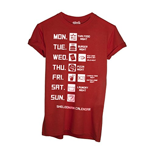 T-Shirt Calendario Di Sheldon - FILM by Mush Dress Your Style