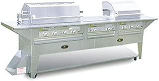 product image for Lazy Man Mobile Outdoor Barbecue - Nine Burner - Natural Gas Model