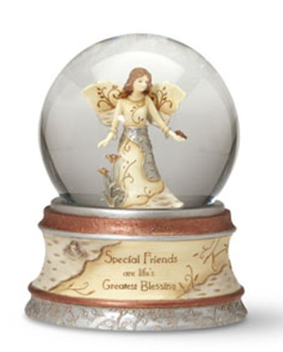 Pavilion Gift Company Elements Special Friends 100 mm Musical Waterglobe with Tune -Inch That