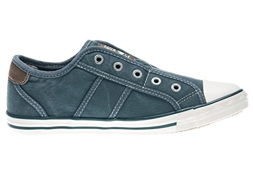 1099 Infilare Himmelblau Donna 807 401 Mustang Sneaker Blau 1FcqgWd