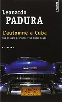 Couverture de L'automne à cuba
