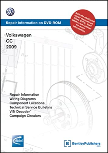 volkswagen cc: 2009 repair manual on dvd-rom (windows 2000/xp): volkswagen  of america: 9780837616124: amazon com: books