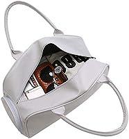Amazon.com: WRI.UY Soft Leather Women Men Gym Bags for ...