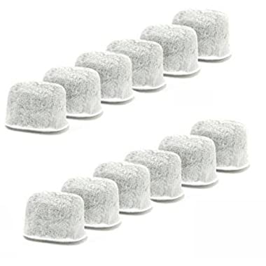 Everyday Replacement Charcoal Water Filters for Keurig Coffee Machines, White