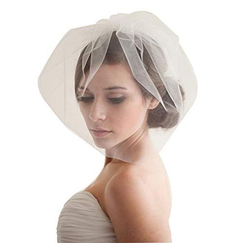(Birdcage Wedding Veils Short with Comb)