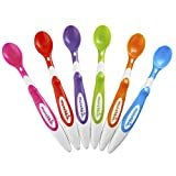 Munchkin 10062 Soft-Tip Infant Spoon, 6-Pack (Colors May Vary)