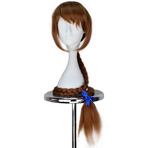 Miss U Hair Fawn Wig Synthetic Extra Long Braid Wig Handmade Anime Cosplay (Fawn Fairy Costume)