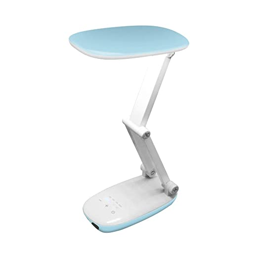 HNZZN Trébol regulable LED Sensor Luz de escritorio Lámpara de ...