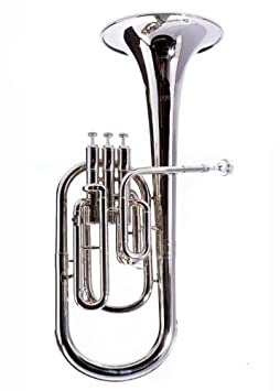 Fever Deluxe Alto Horn Silver Plated, 2411-1-N Sky Blue Telemarketing Inc.