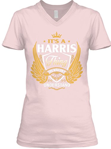 teespring-womens-its-a-harris-thing-bella-canvas-v-neck-t-shirt-medium-pink