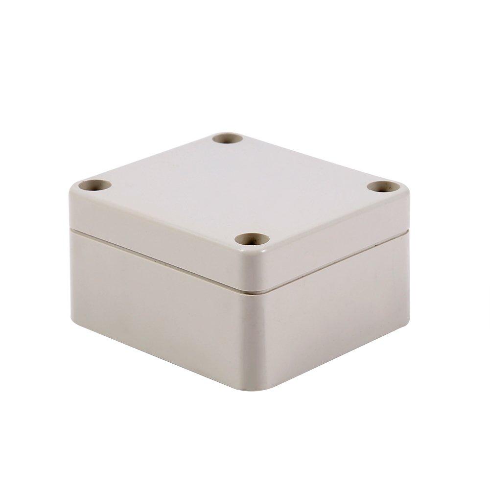 65*60*35mm Connecteur imperm/éable,Bo/îtier /étanche ext/érieur 1 pc Bo/îte de jonction imperm/éable couleur blanche