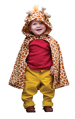 Great Pretenders Giraffe Toddler Size 1-3 Cape Dress-Up Play -