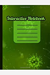 Interactive Notebook: INB Template Composition Book: Table of Contents, Numbered Pages, Sketch Paper (left output), Wide Ruled Paper (right input) and ... 8.5 x 11 Softcover Doodle Notes Writing Pad. Paperback