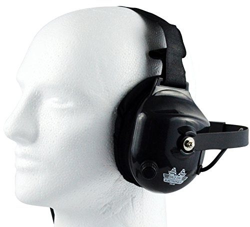 Passive Noise Canceling Headphones - Race Day Electronics RDE-058 Behind The Head Racing Scanner Headset Headphones for Industrial Nascar Dirt Races
