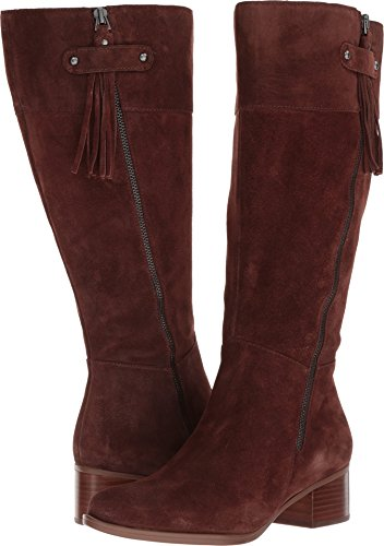 Naturalizer Women's Demi Wc Riding Boot Chocolate 6 2W US