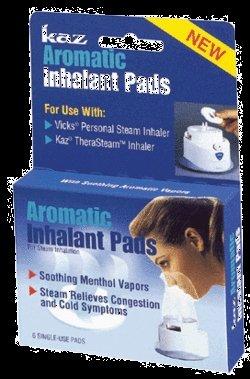 Kaz inhalation Pads, aromatique,
