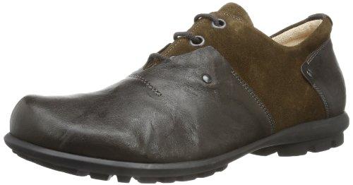 Think! Kong, Chaussures de ville à lacets pour homme Marron - Braun (Espresso/Kombi-42)