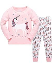 Girls Princess Pajamas Set 2-7 Years