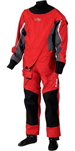Gill Boys Pro Drysuit Red M