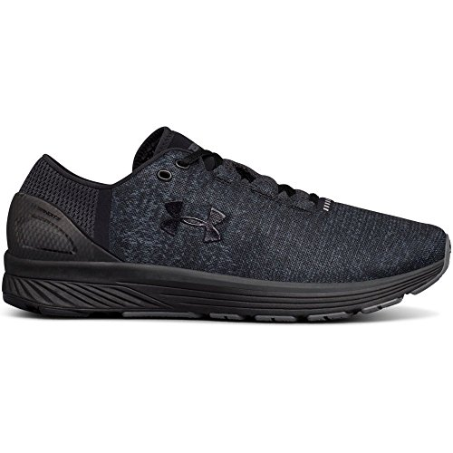 Under Armour Men's Charged Bandit 3 Running Shoe, Black (009)/Stealth Gray, 8