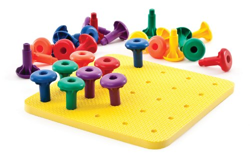 (Carson-Dellosa Thinking Kids' Math Easy Grip Pegs and)