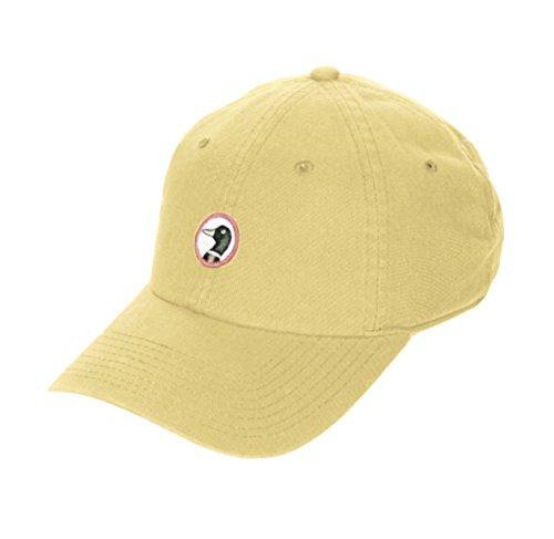 Throw Fraternity (Duck Head Unisex O/S - Logo Patch Cotton Baseball Cap (Yellow))