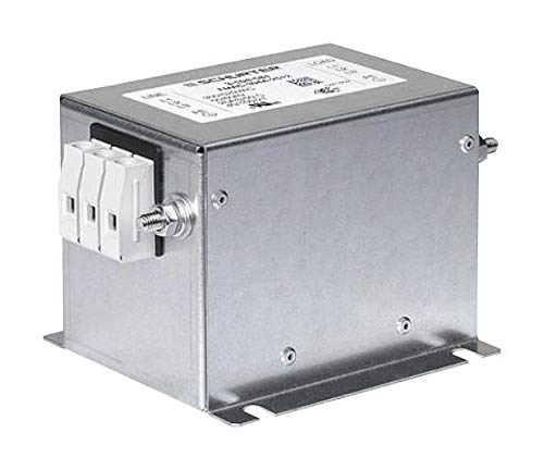- SCHURTER - 3-104-841 - Power LINE Filter, 3 Phase, 25A, 520VAC