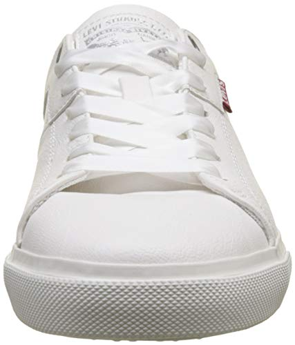 noir 51 Levi's Blanco Woods Mujer Zapatillas Para White Regular W vYqz6