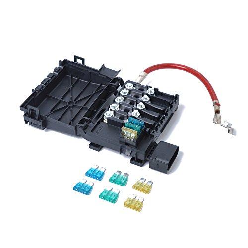 Terminal de batería de caja de fusibles 1J0937550A para 1999-2004 VW Jetta Golf Mk4 Beetle