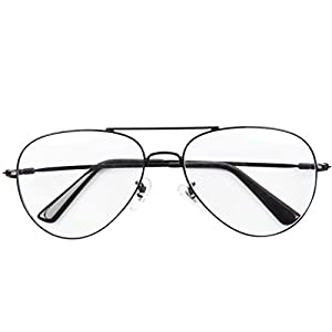 Bi Tao Metal Premium Aviator Black frame Reading Glasses 4.50 Strengths Men Women fashion Reading Eyeglasses
