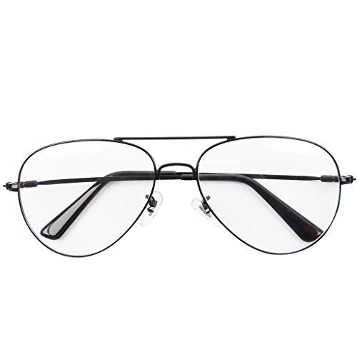 Bi Tao Metal Premium Aviator Black frame Reading Glasses 4.50 Strengths Men Women fashion Reading Eyeglasses