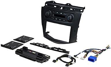 Metra 88-00-7803 Lower Pocket for Select 2003-07 Honda Accord Vehicles 88007803 Black