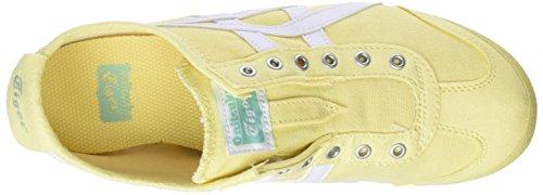 Mexico Sneaker 66 Giallo Slip 0301 Meringue Asics Donna On White Lemon pwdfqfIO