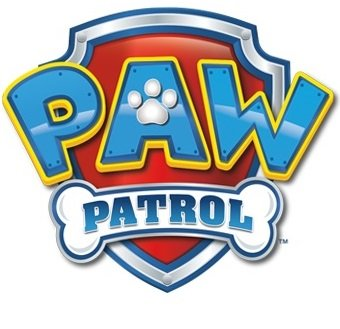 3 Inch Paw Patrol Badge Pup Wall Decal Sticker Pups Puppy Puppies Dog Dogs Removable Peel Self Stick Adhesive Vinyl Decorative Art Kids Room Home Decor Children 3 1/2 x 2 1/2 inches