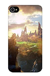 Defender Case For Iphone 4/4s, Oz The Great And Powerful Pattern, Nice Case For Lover's Gift