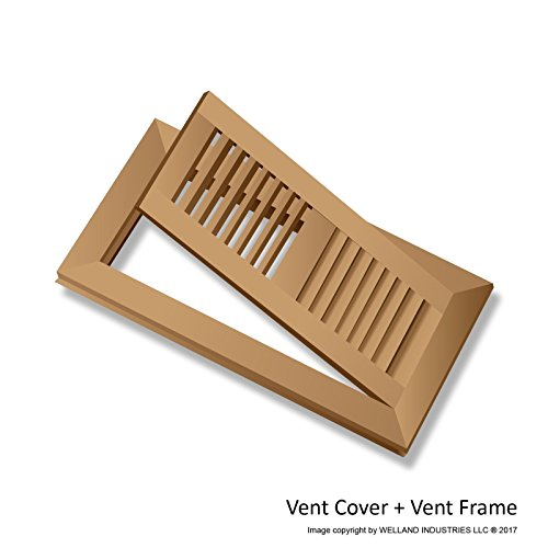 Welland 4 Inch X 10 Inch Red Oak Hardwood Vent Floor