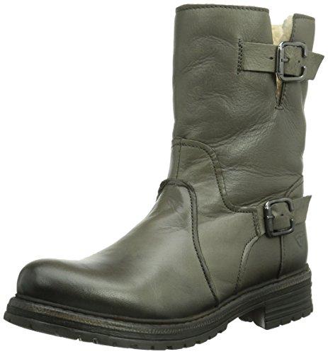 Tamaris 26929 - Botas de cuero para mujer gris gris 36 EU (3.5 Damen UK) Graphite 206