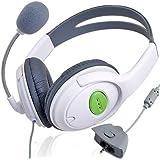 Amazplu Casque stéréo avec microphone pour Xbox360 LIVE