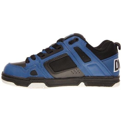 Dvs Mens Shoe Skateboard Comanche In Pelle Nera / Blu