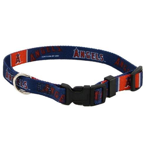 Hunter MLB Anaheim Angels Adjustable Dog Collar (Medium)