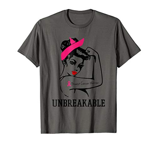 - Breast Cancer Warrior unbreakable t-shirt
