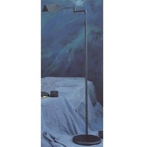 Black Lite Source LS-960D BRZ Floor Lamp with Metal Shades, 23  x 23  x 55 , Bronze Finish