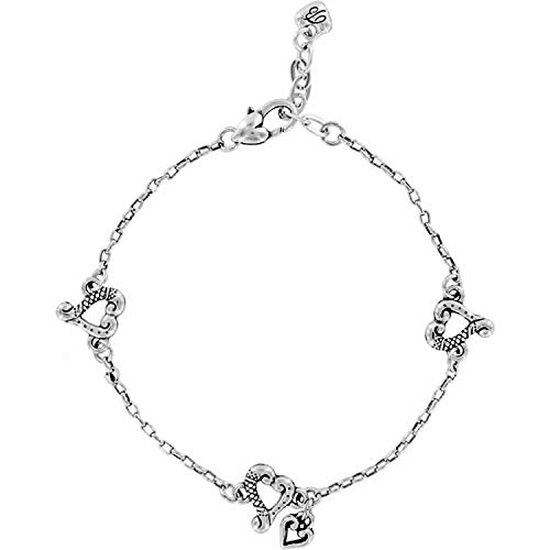 - Brighton Tuscan Heart Anklet