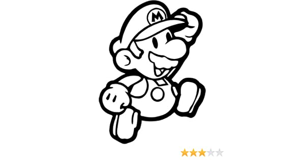 Decal Vinyl Truck Car Sticker Video Games Super Mario